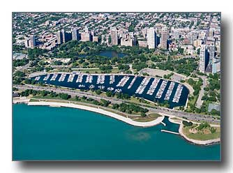 Diversey Harbor in Chicago